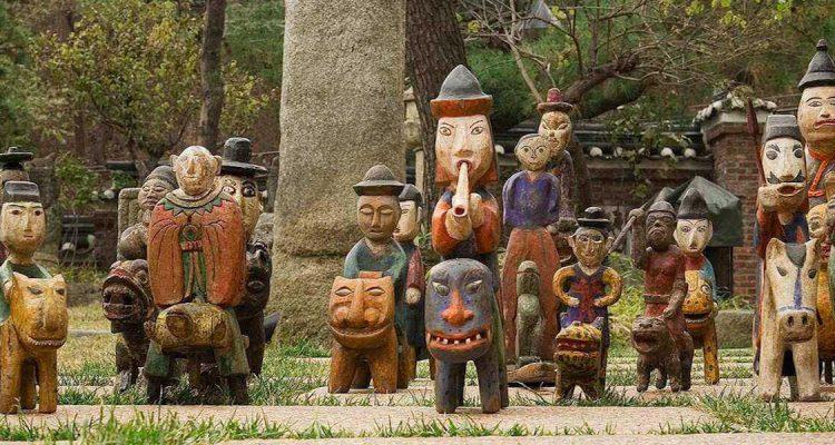 Korean Kokdu figurines