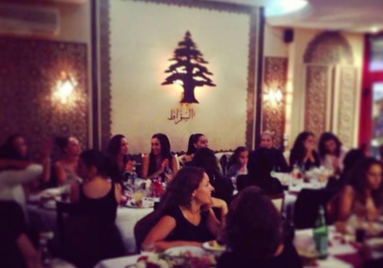 Le Socrate Lebanese restaurant in Nice