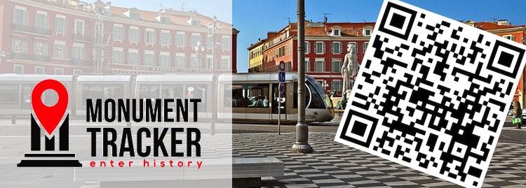 Nice Monument Tracker app