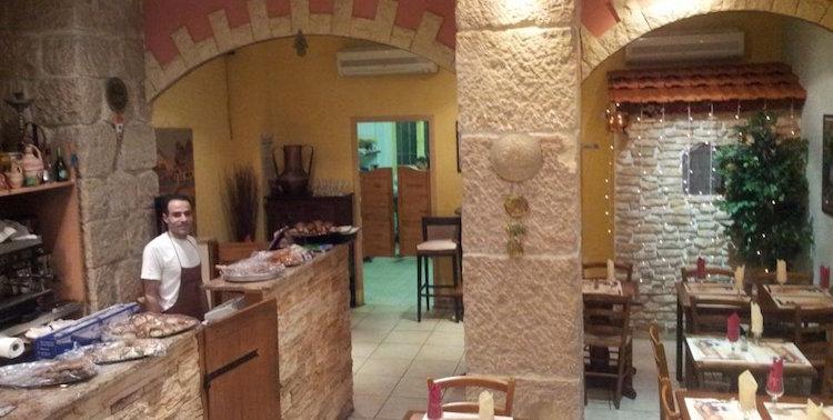 Au Petit Libanais Lebanese restaurant in Nice