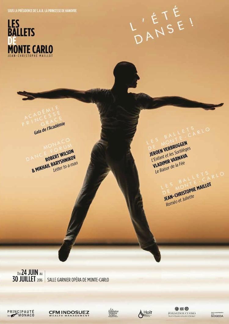 L'été de danse de Monte-Carlo affiche