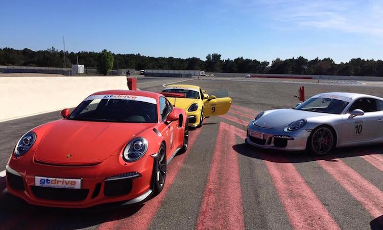 Supercars in the Var in France - outdoor activities