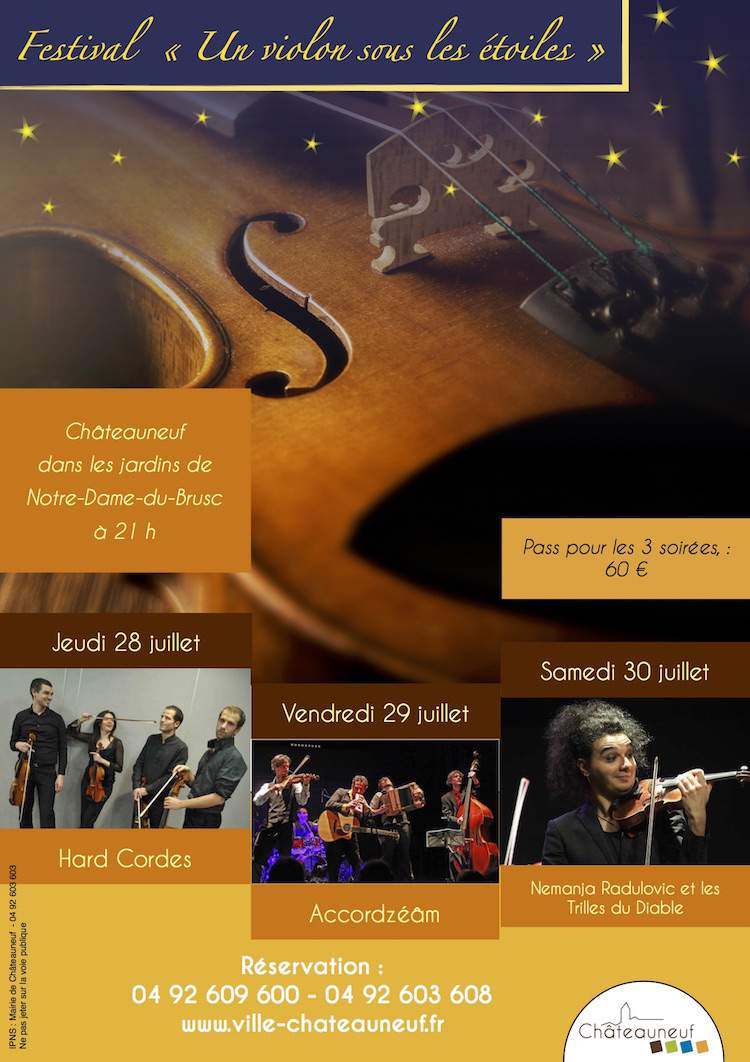 Châteauneuf violin festival