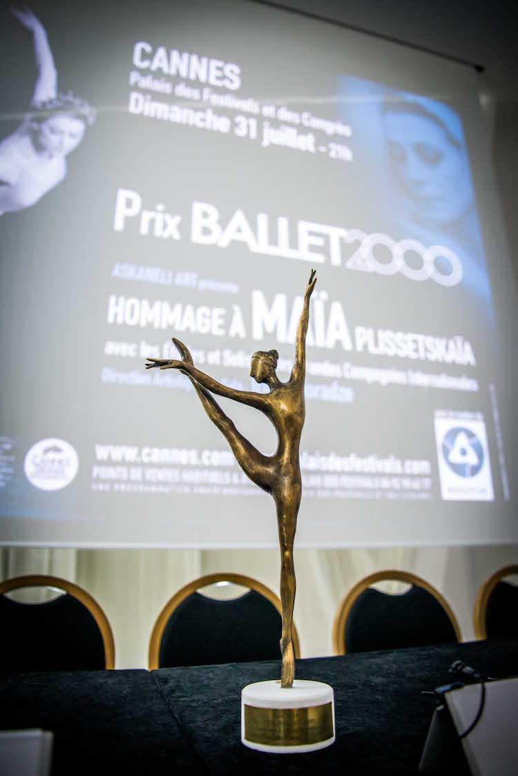 Cannes Gala Maya Plisetskaya award