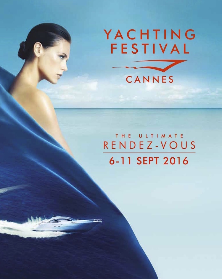 Cannes Yachting Festival 2016 poster