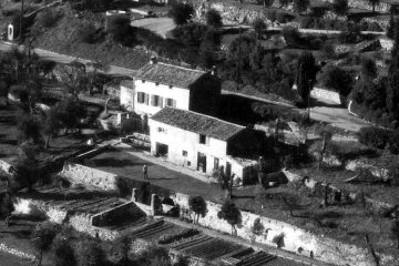 Farmhouse near Grasse after WWII