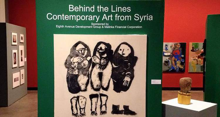 Syrian Art - Behind the Lines exhibition