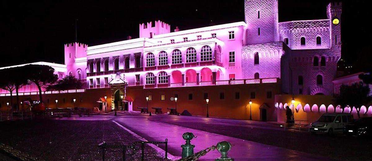 Palais Princier in Monaco to turn pink this October