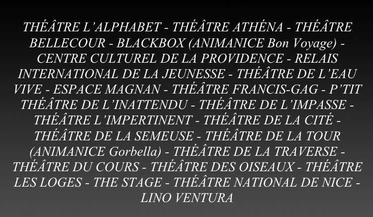 Theatres in Nice Theatre fortnight