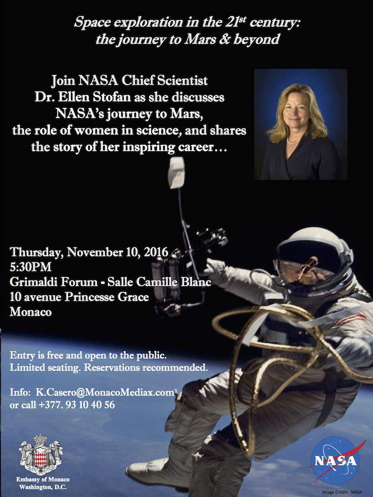 Dr Ellen Stofan Last Man on the Moon