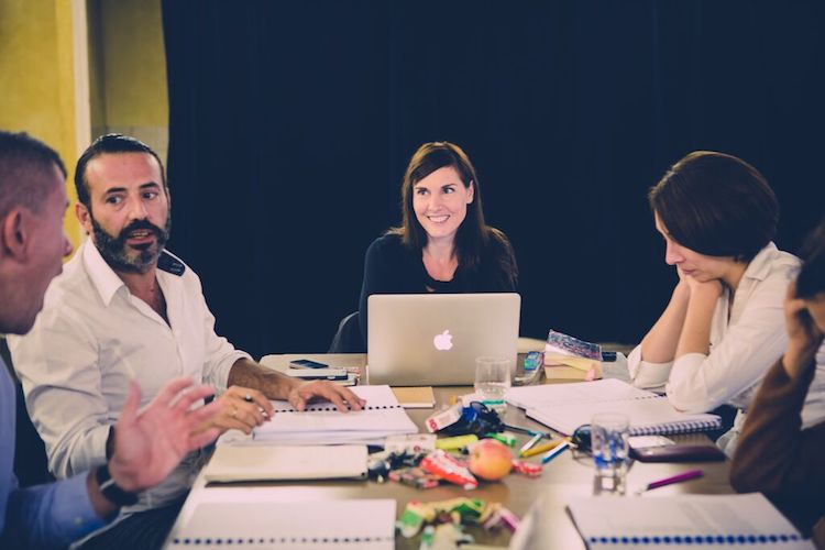 Collectif 8 at work © Meghann Stanley