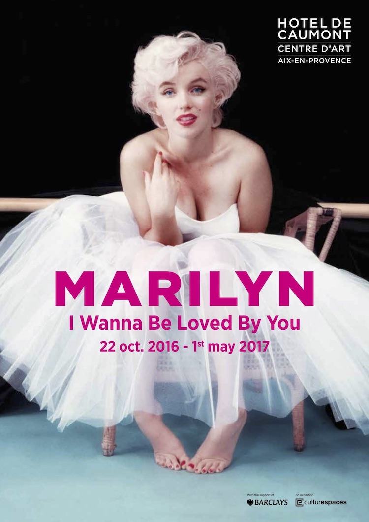 Marilyn Monroe expo Aix