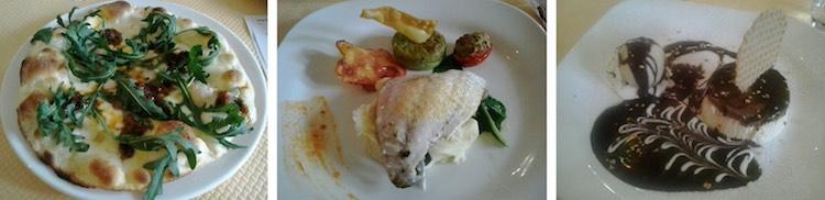 Three course menu du jour @ Baie d'Amalfi in Nice