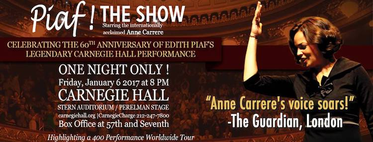 Piaf! The Show @ Carnegie Hall