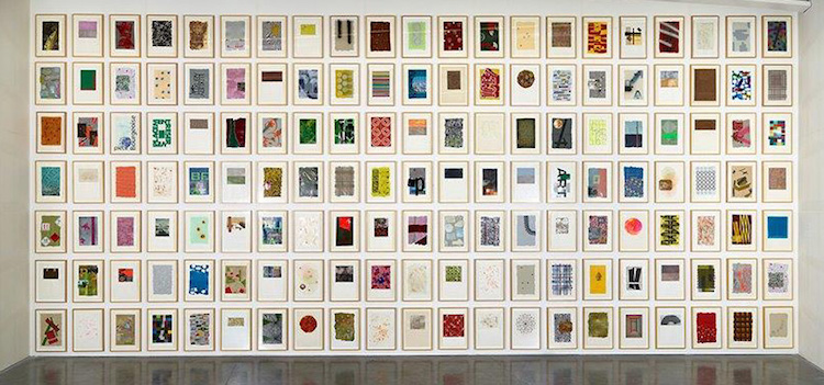 Pascal Pinaud mur de dessins