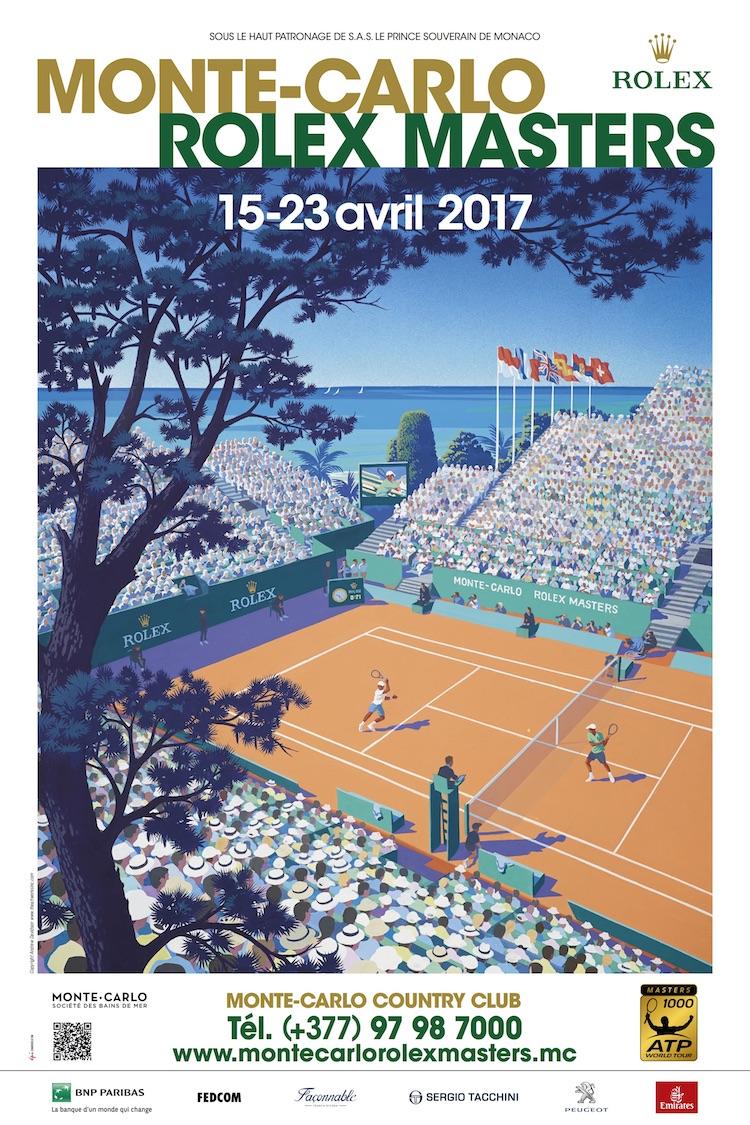 Monte-Carlo Rolex Masters 2017 poster