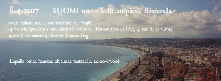 Suomi 100 in Nice