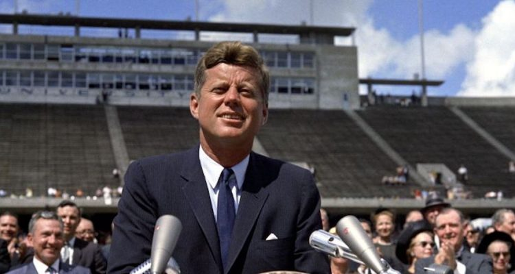 President John F. Kennedy Address at Rice University in Houston