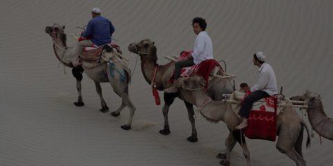 Paskho in the desert