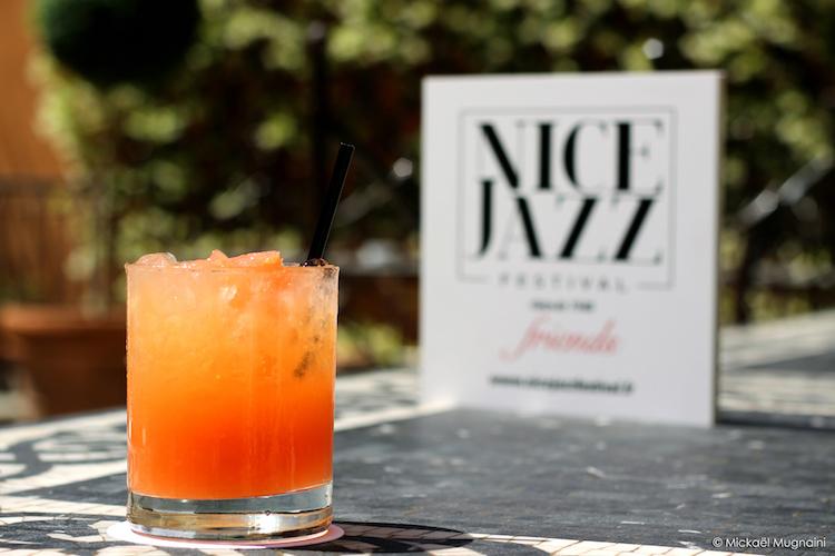 Cocktail Jazz It Up - Par Charly Poupinel - Hotel Ellington Nice Centre - Nice Jazz Friends - Photo Mickael Mugnaini