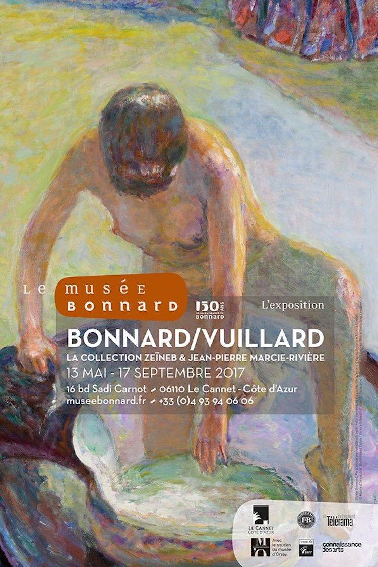 Bonnard Vuillard expo poster