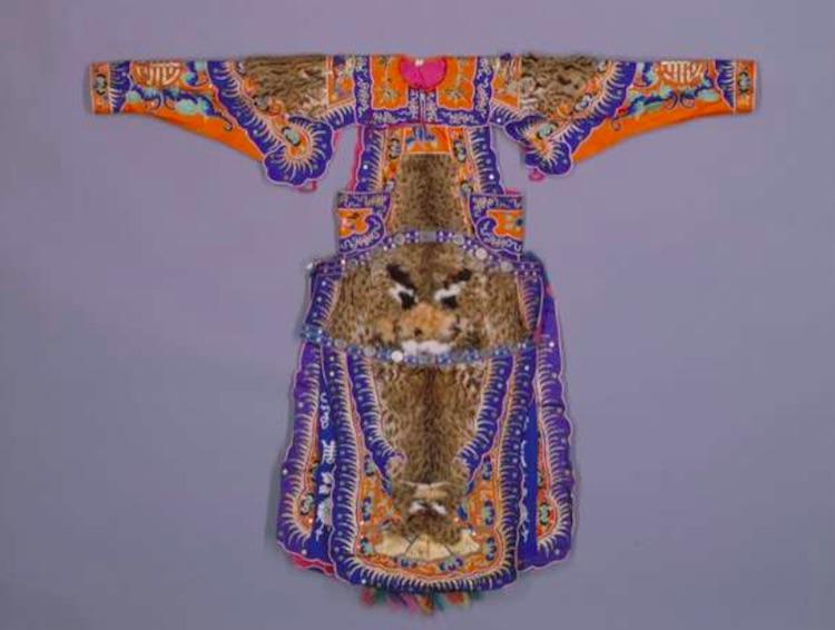 Chinese opera costume Forbidden City