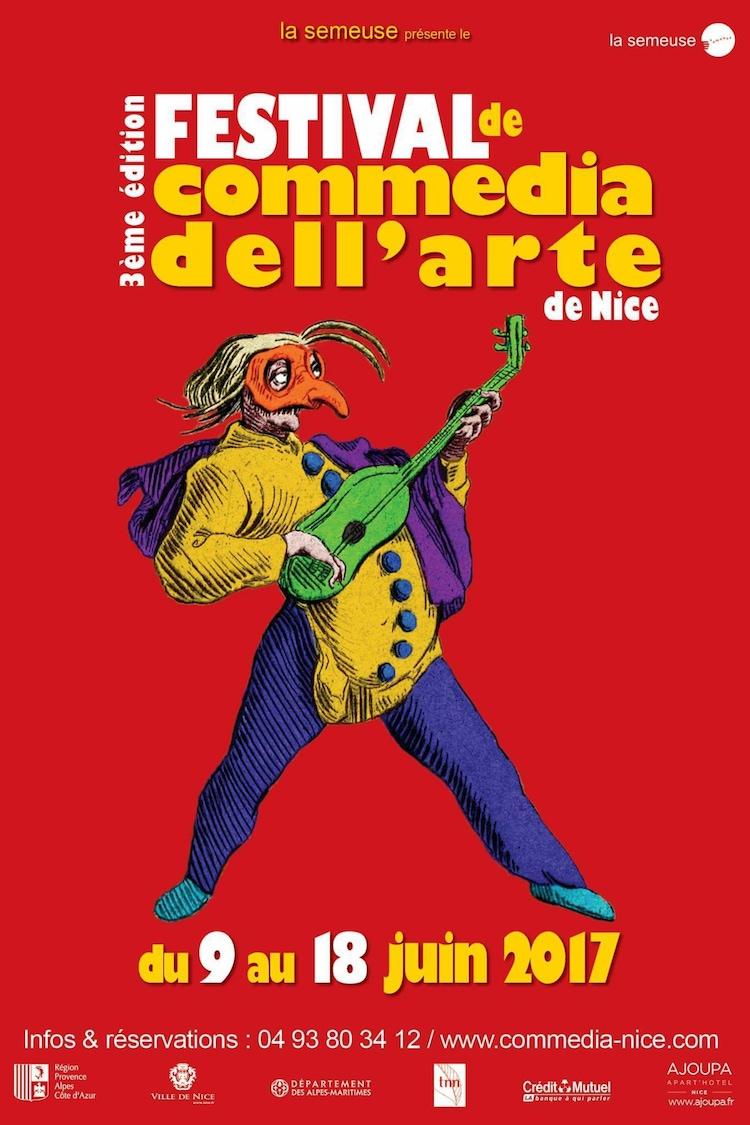 Festival de Commedia Dell'arte de Nice poster