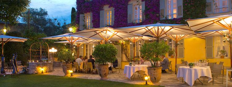 Bastide St Antoine Grasse terrasse