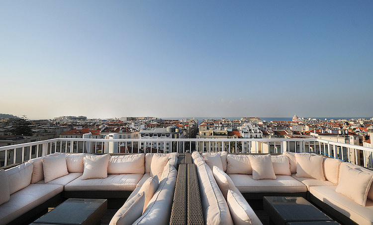 Hotel Splendid rooftop in Nice