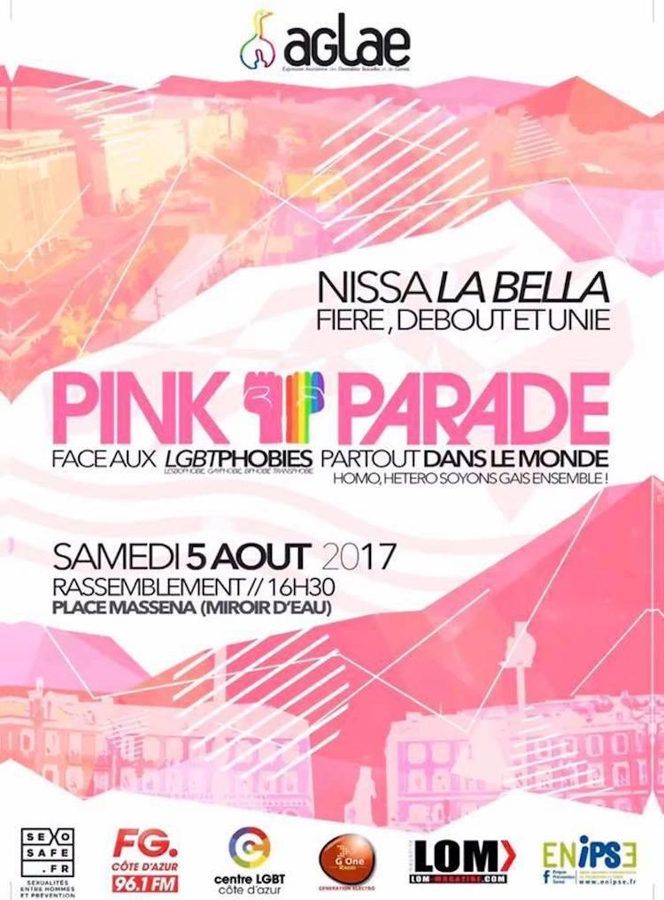 Pink Parade 2017 in Nice