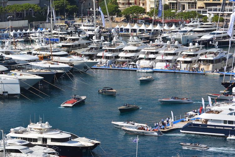 Monaco Yacht Show yachts