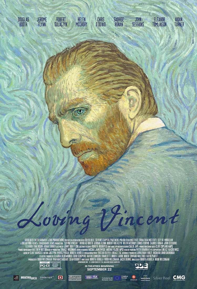 Loving Vincent movei poster