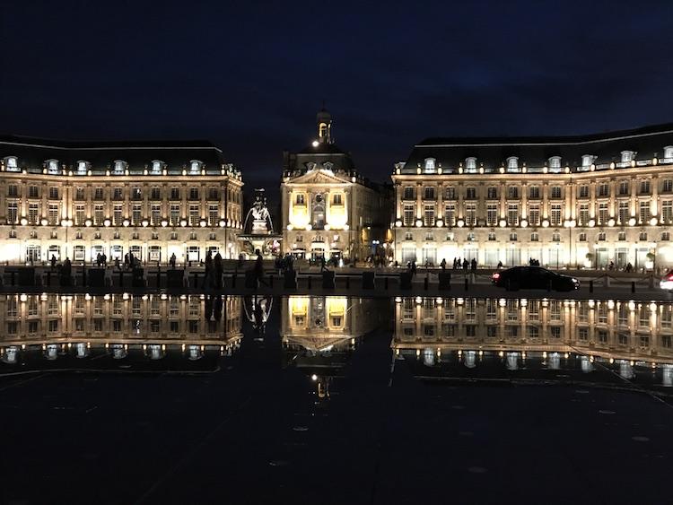Mirroir d'eau Bordeaux