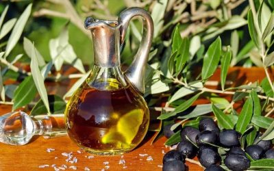 Carafe of olive oil