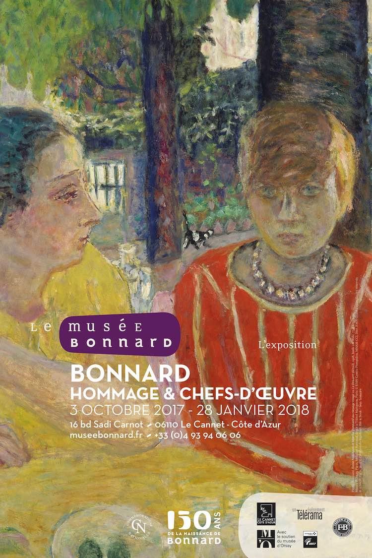 Pierre Bonnard Hommage et chefs d'œuvre
