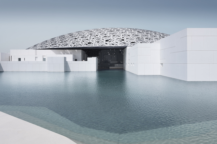 Louvre Abu Dhabi exterior and dome