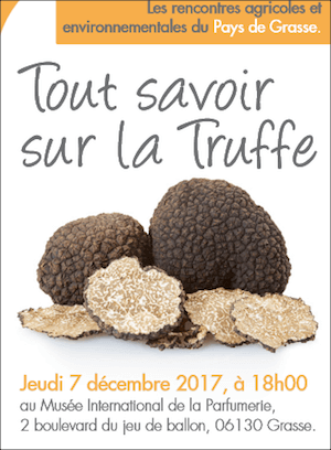 Truffles conference Grasse