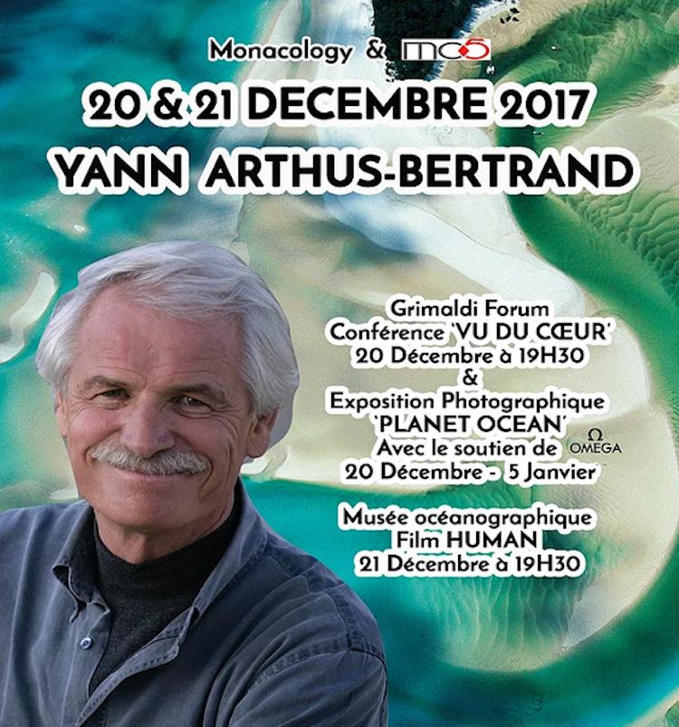 Yann Arthus-Bertrand in Monaco