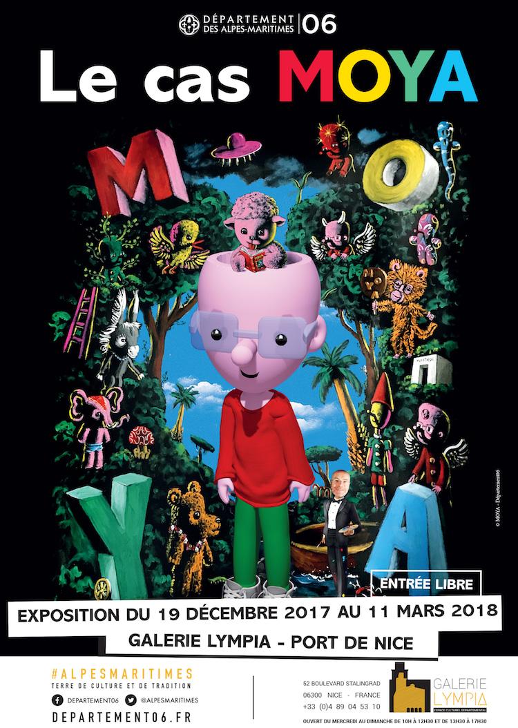 Patrick Moya exhibition at Galerie Lympia