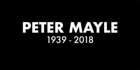 Peter Mayle RIP