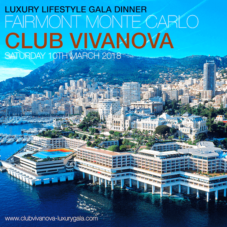 Club Vivanova Gala Charity Night poster