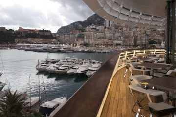 View of Monaco from YCM