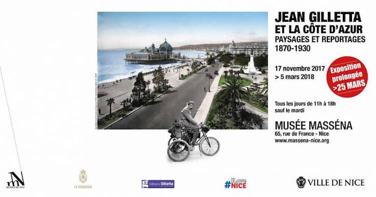 Jean Gilletta exhibition in Nice