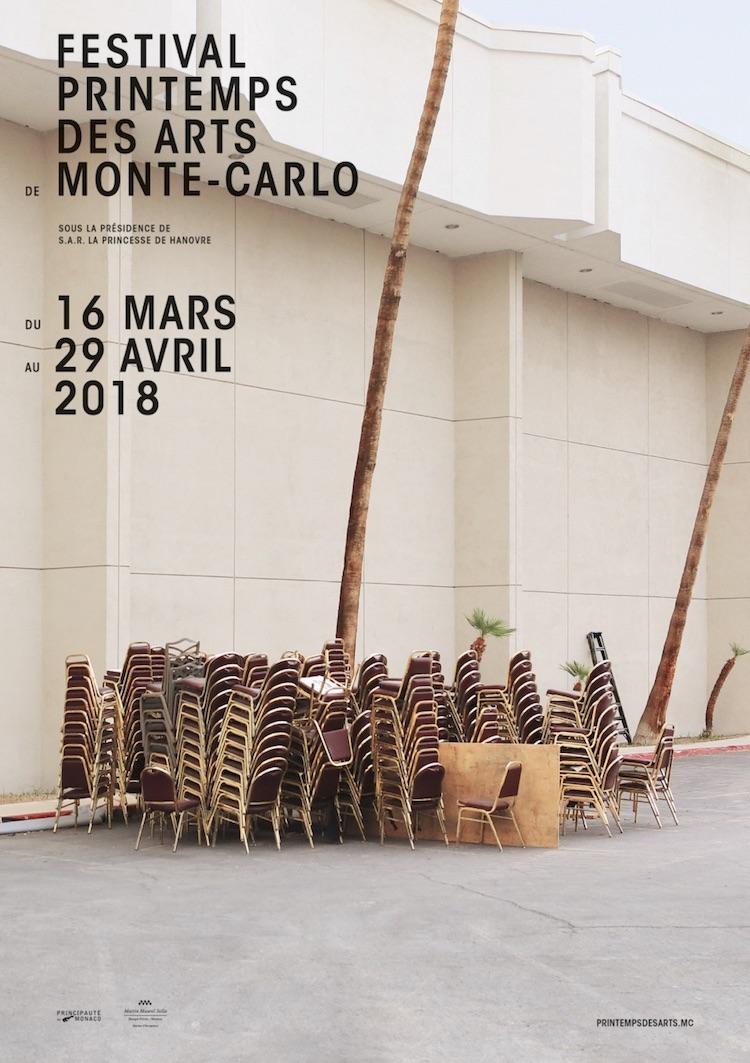 Printemps des Arts de Monte-Carlo poster 2018