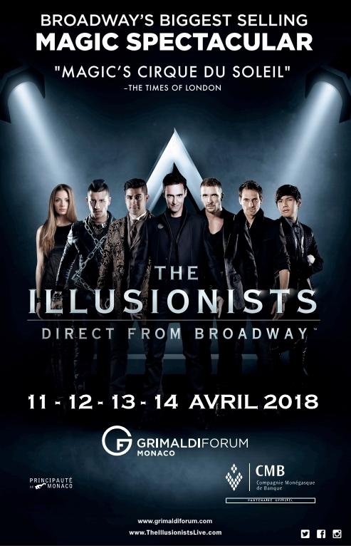 The Illusionists @ Grimaldi Forum Monaco