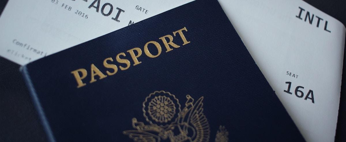 Passport by Nicole Harrington on Unsplash