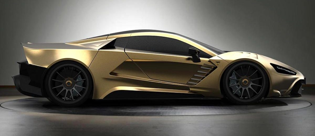 TS 600 Apex gold Top Marques Monaco